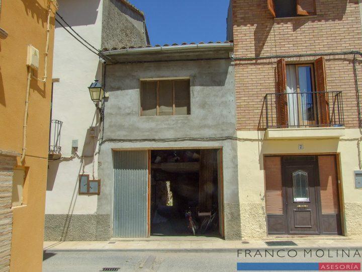 venta casa con huerto en Castillazuelo