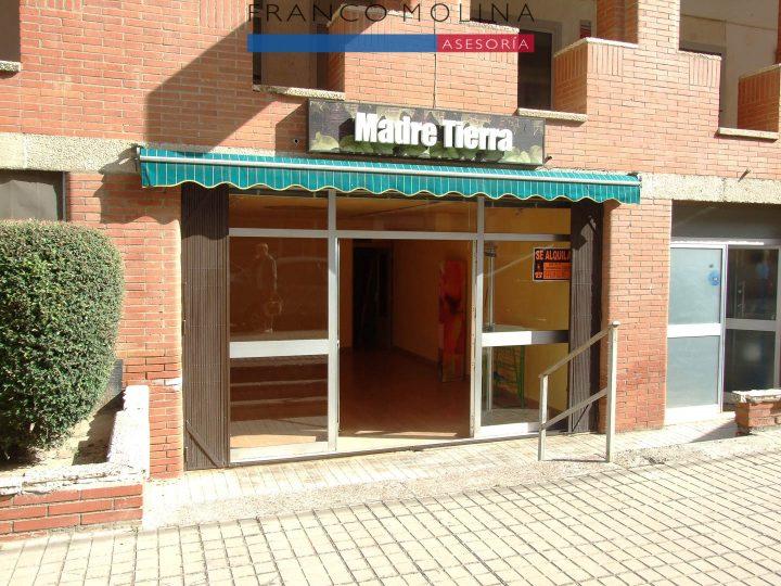 Alquiler Local – C/. Estadilla, 22