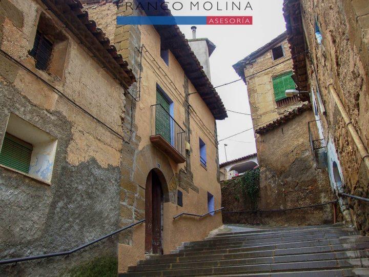 Venta casa – Huerta de Vero (Huesca)